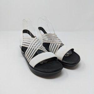 Skechers Luxefoam Platform Strappy Sandals Wmns 7